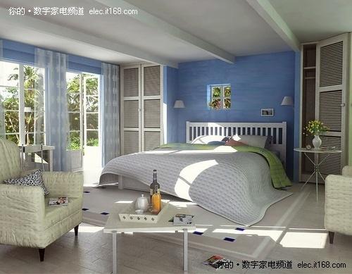 36款田园风格卧室装修图