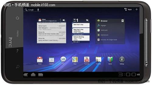 HTC再度发力! Desire HD运行Android3.0