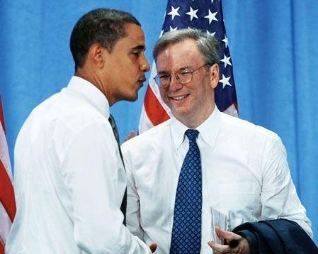 谷歌CEO施密特或担任美国新任商务部长