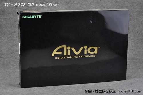 妖艳登场 技嘉K8100键盘红色版开箱图赏