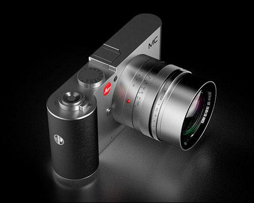 徕卡/【IT168 资讯】近期,疑似徕卡微单相机的概念机型MC效果图在...