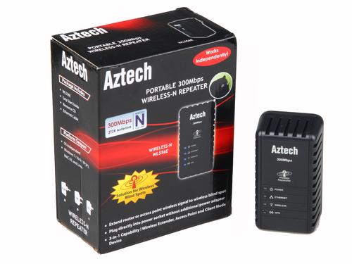 电线蹭网不花钱 Aztech最新WL556E评测