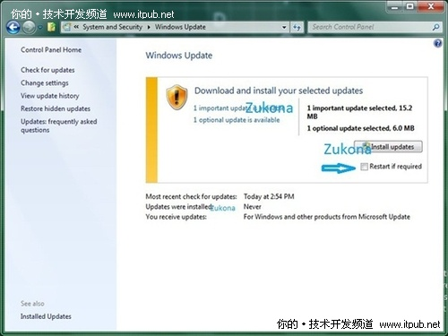 Windows 8新版截图曝光 WU界面微调