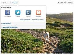 Flickr增添分享到Facebook Twitter功能