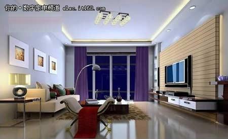【图】简约大方 三十款客厅吊顶装修效果图赏
