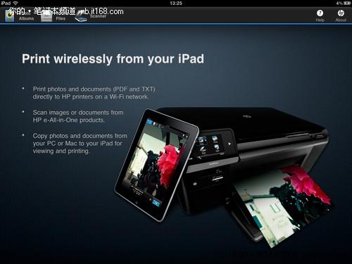 iPrint 时尚的iPad应用