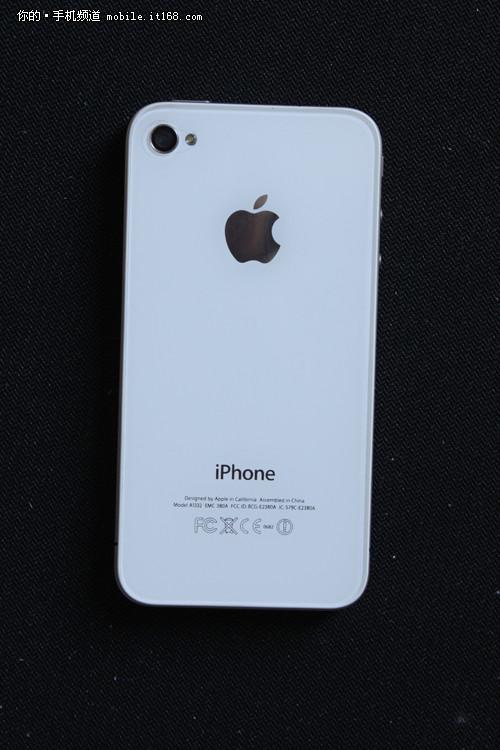 iphone4一直白苹果_罕有白色iphone4真存在?昆明惊现白苹果