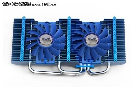 超频三发布新款显卡散热器