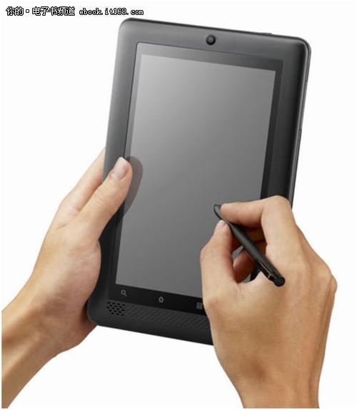 优派将推全球首款1G处理器平板电子书