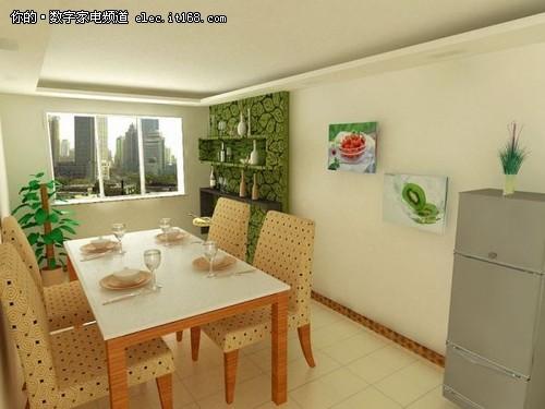 30张现代家庭餐厅装修效果图赏三