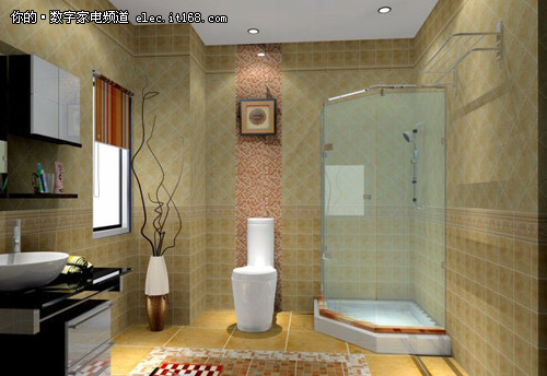 小面积浴室装修效果图赏9