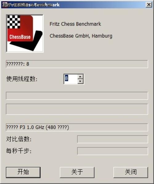 CPU运算测试:FritzChess