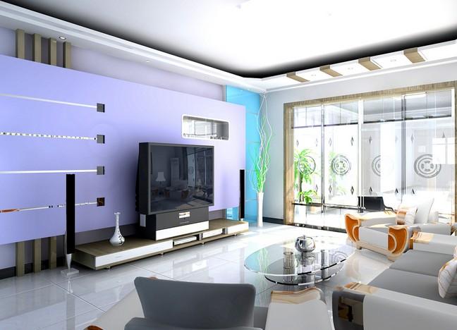 时尚 个性 48款最新电视背景墙效果图