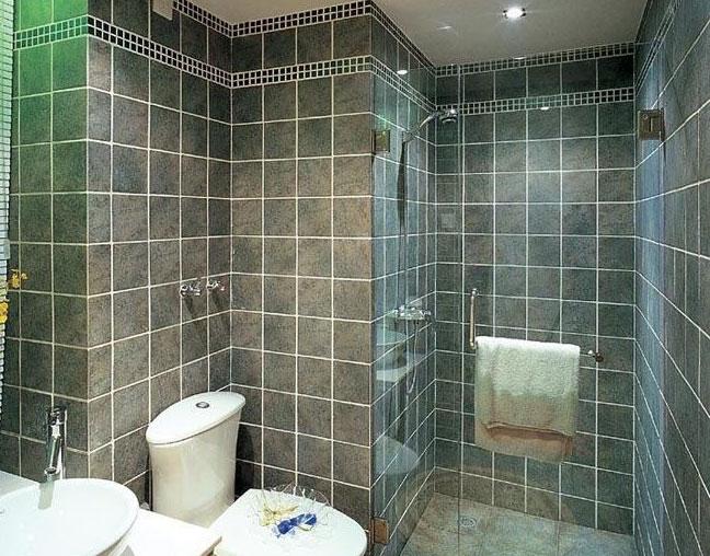 卫生间也要创意 48款卫浴装修效果图赏