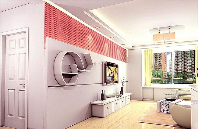 【图】简约大方 三十款客厅吊顶装修效果图赏 - 家电