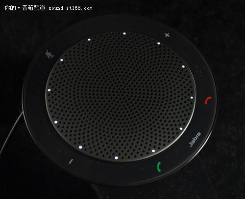 电话 飞碟 捷波 扬声器 speak410/▲调节音量时白色的指示灯数量也随之变化...