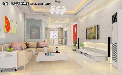 时尚小清新 简装风格客厅装修效果图赏