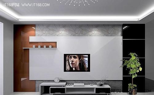 36款电视背景墙效果图赏六-现代简约风格 36款电视墙-