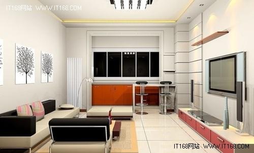 36款电视背景墙效果图赏八-现代简约风格