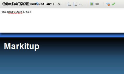 基于jQuery 的可视化文本编辑器