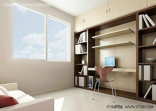 经典+大气 不同风格书房设计装修效果图