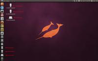 如何隐藏Ubuntu 11.04桌面上的驱动器