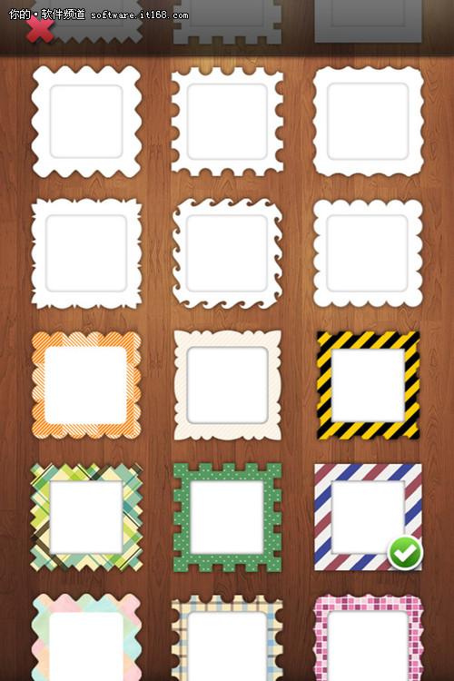 拼图,样式设置和加相框-美图秀秀iphone拼图 一次发到