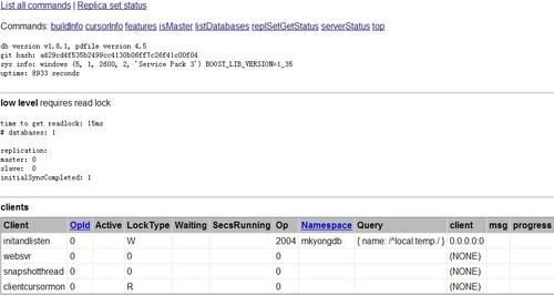 主流NOSQL数据库之MongoDB快速入门 2