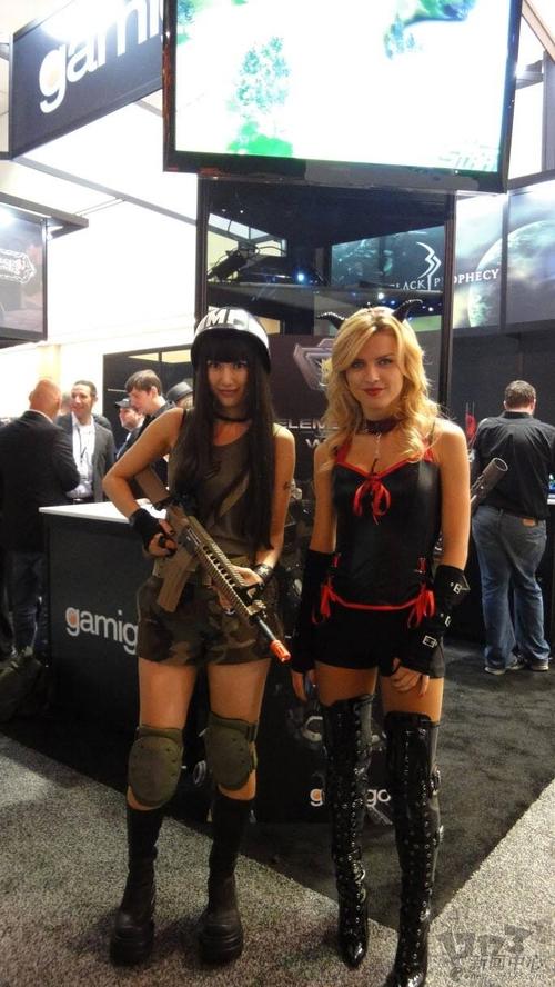 2011美国E3游戏展性感美女图赏(4)