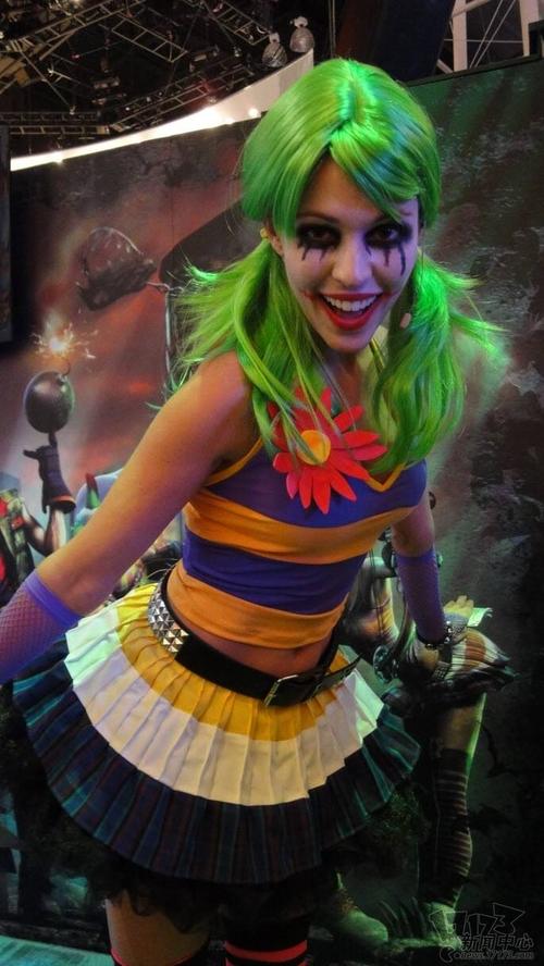 2011美国E3游戏展性感美女图赏(5)