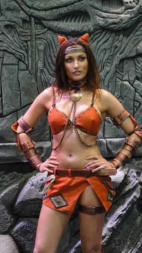 2011美国E3游戏展性感美女图赏(3)