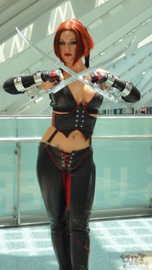 2011美国E3游戏展性感美女图赏(2)