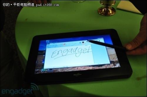 Win7发力 两款10英寸Intel平台平板开售