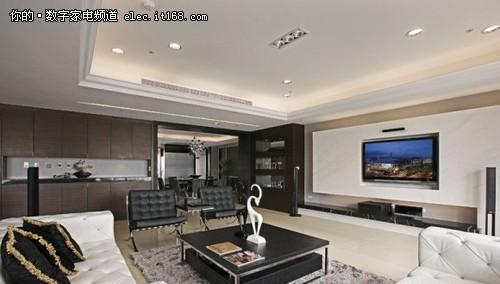 现代简约风格客厅造型天花板十三-现代简约风格