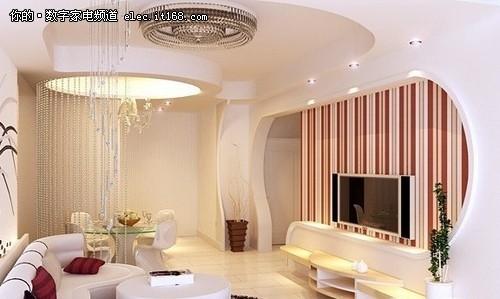 數字家電 > 現代簡約風格 客廳天花板裝修效果圖賞    現代簡約風格