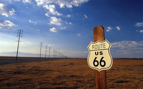 怀旧放逐 windows 7官方主题:美国之旅图片