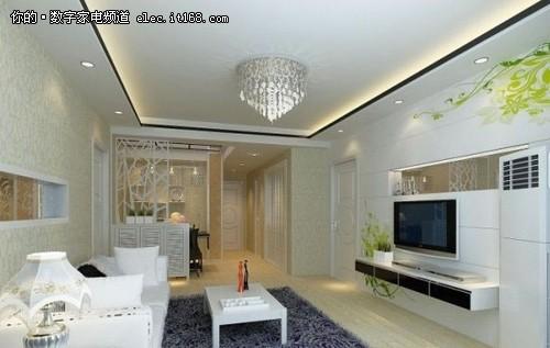 最给力的48款精美客厅装修设计效果图(组图)