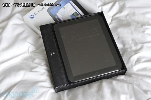 惠普TouchPad开箱图