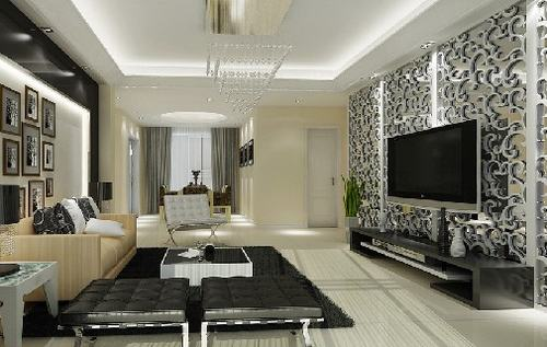 客厅装修必看 2011最潮电视背景墙设计