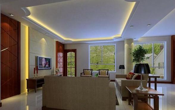 客厅天花板装修效果图赏 - 数字家电频道 图片欣赏