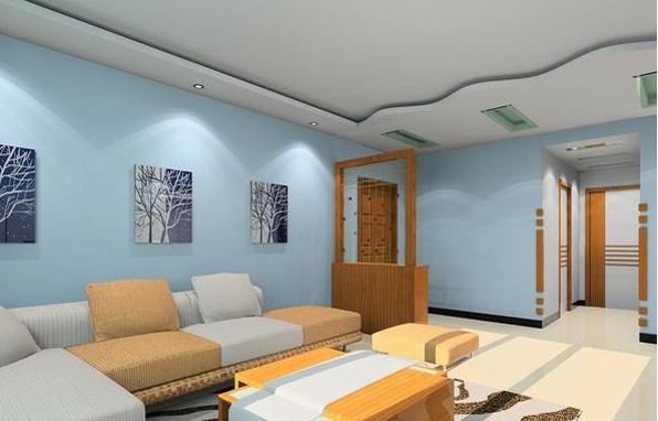 客廳天花板裝修效果圖賞