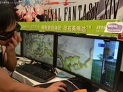 明基电劲王XL2410T助阵ChinaJoy游戏展
