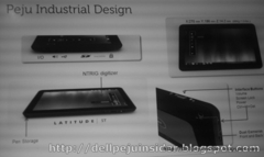 戴尔Win7平板Peju曝光 内置i5支持1080p