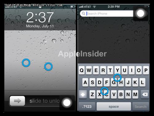 iOS5更新 图片+视频演示自定义多点手势