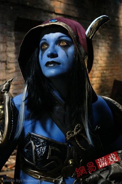 《魔兽世界》美女玩家cos希尔瓦娜斯