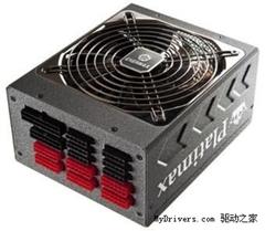 全模组高效能 安耐美80+白金牌电源推出