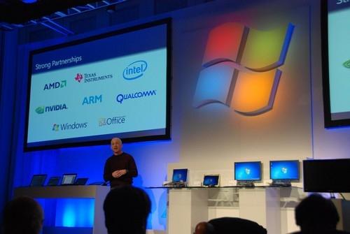 Windows 8将支持ARM架构