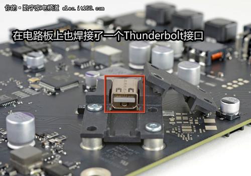 苹果thunderbolt显示器电路板拆解-新27吋