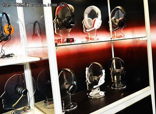 2011香港秋季电子展:硕美科耳机