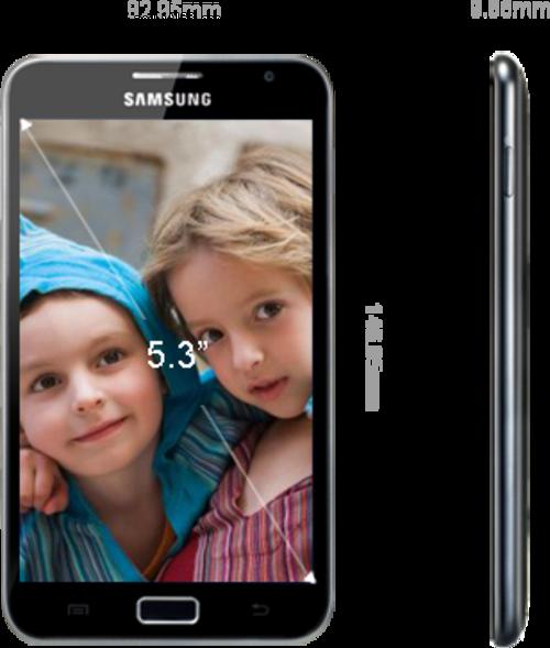 手机与平板完美结合 三星Note售价曝光